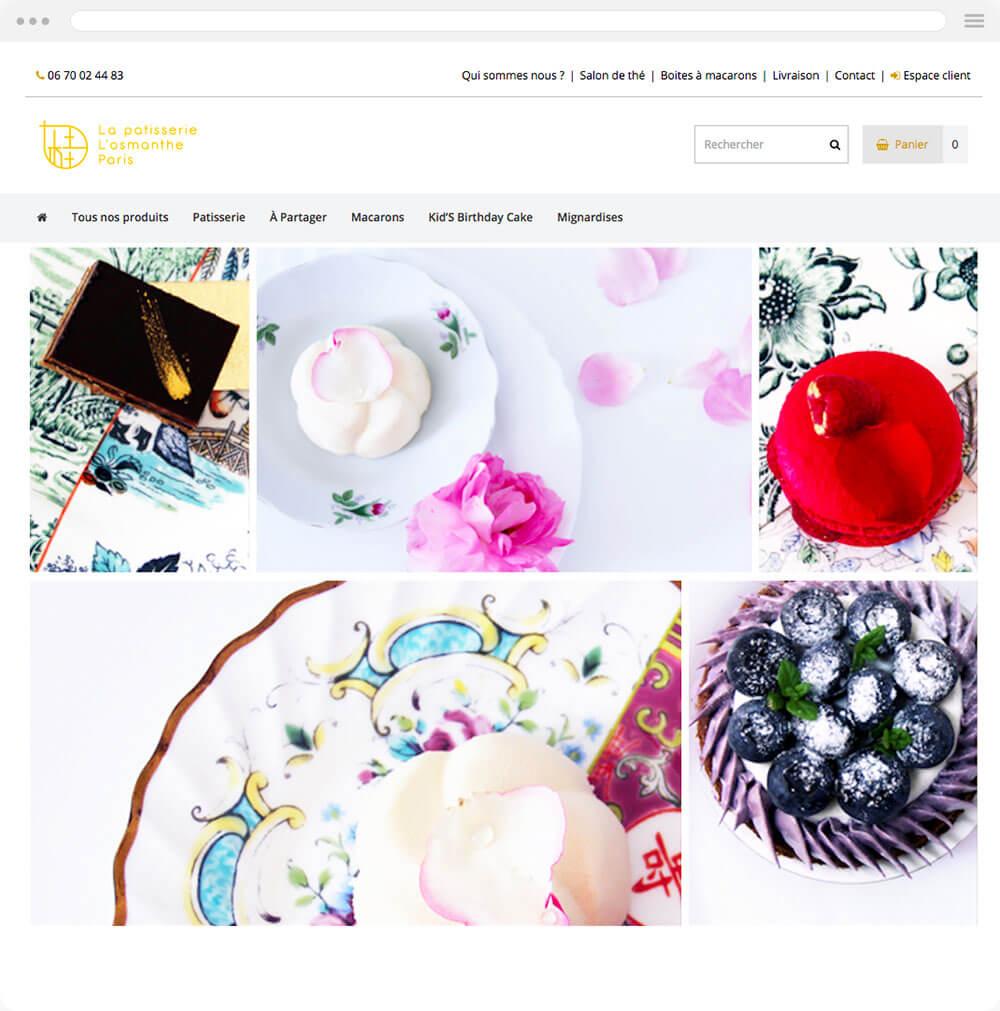 Losmanthe.com est réalisé avec epro shopping