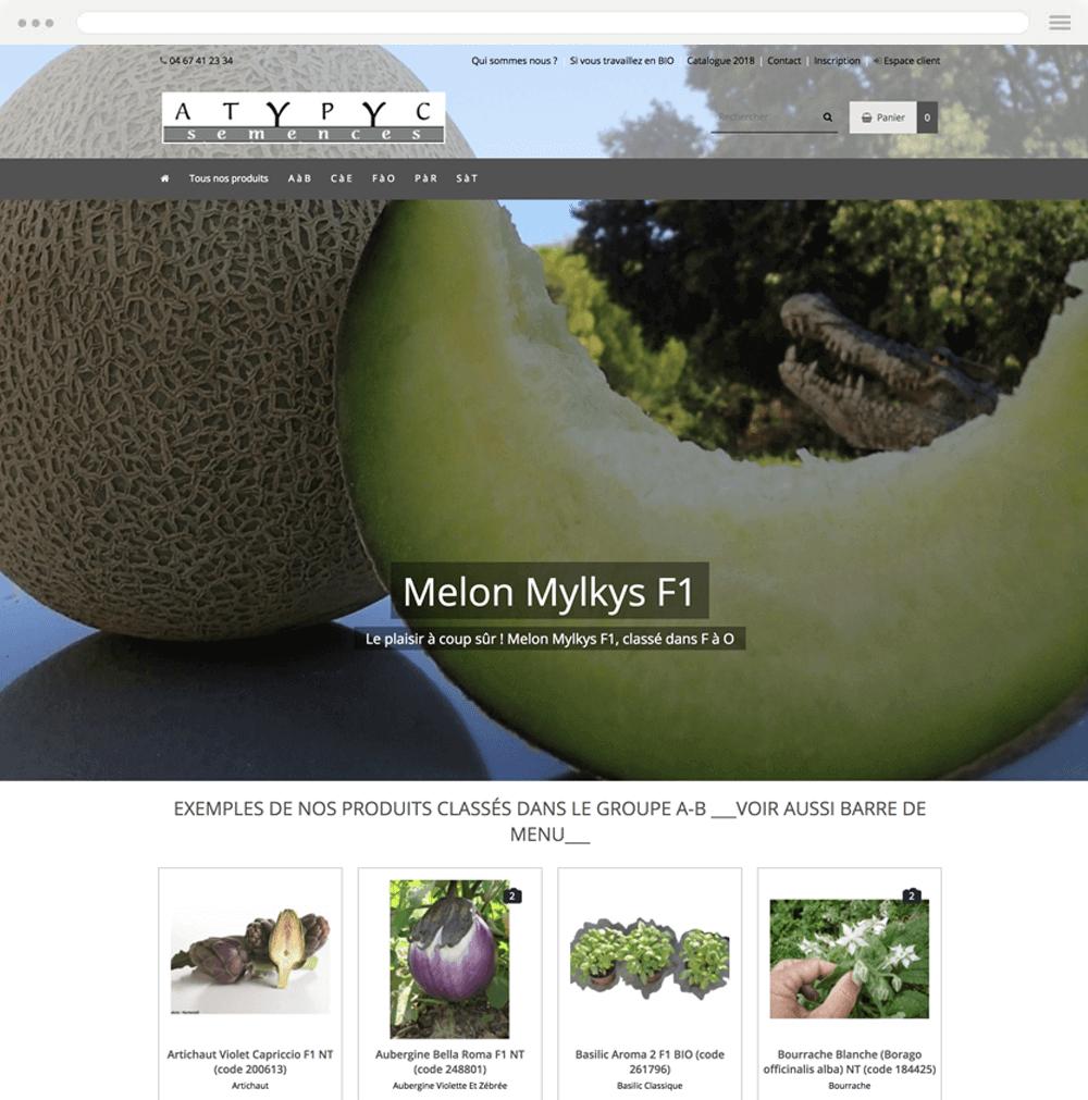 atypyc.com est réalisé avec epro shopping
