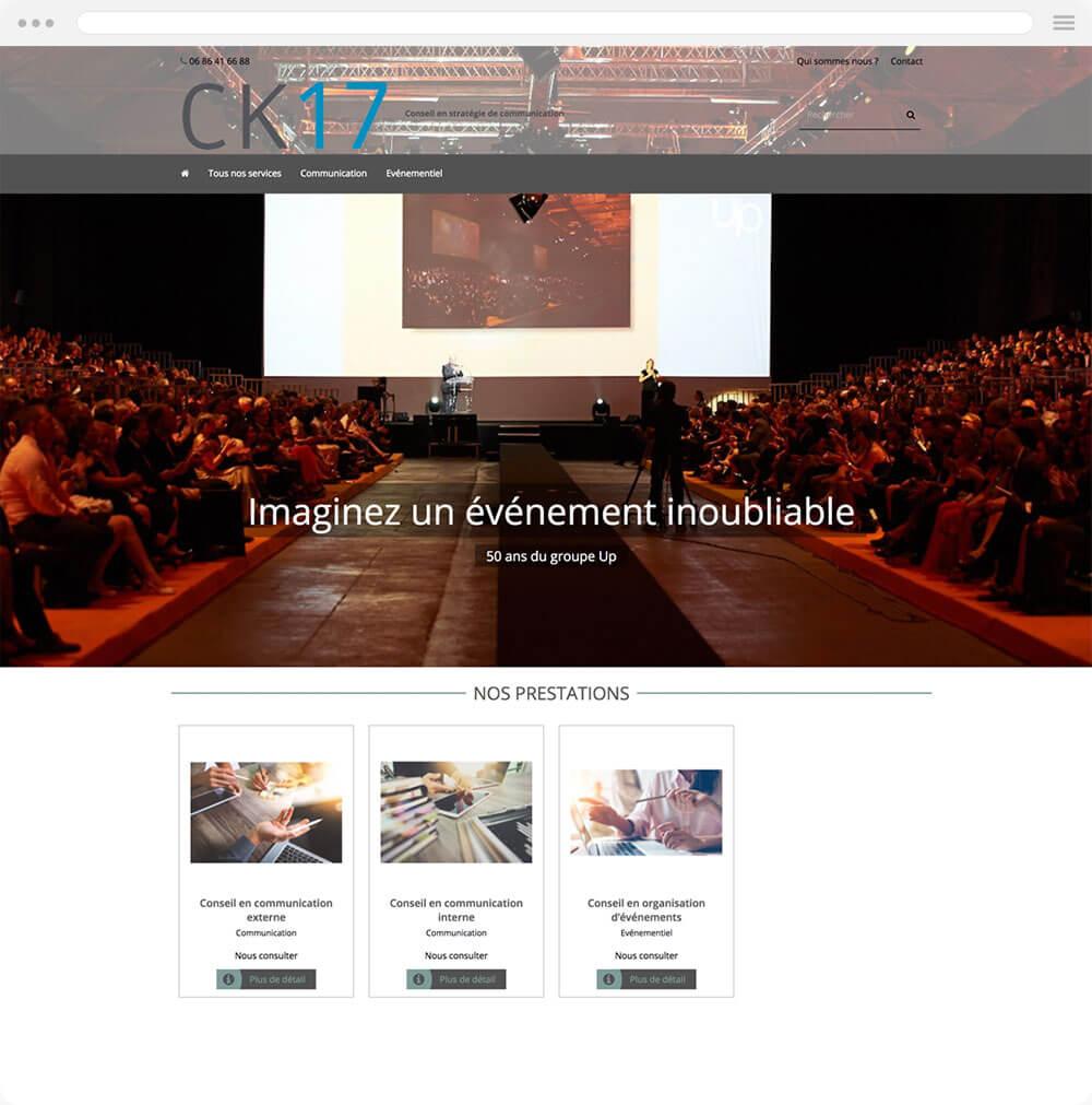 ck17.fr est réalisé avec epro shopping
